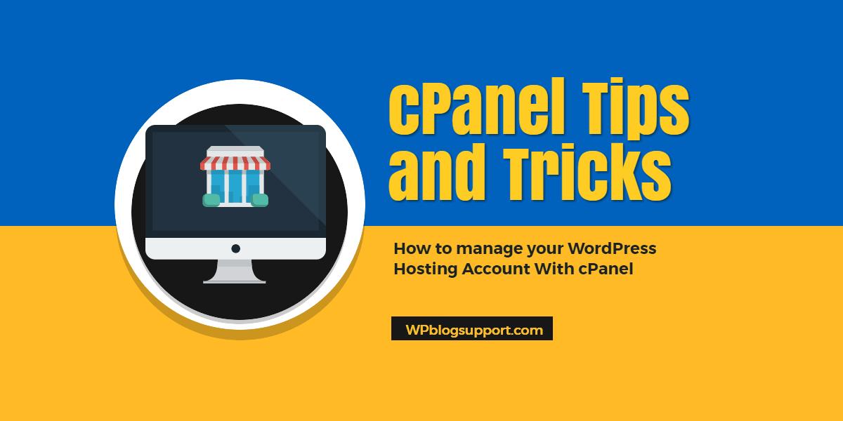 WordPress cPanel Hosting Tutorials