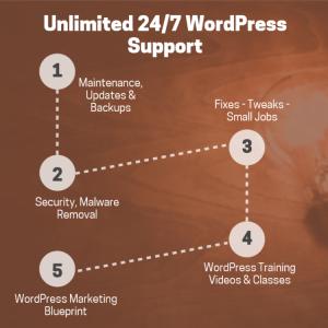 WordPress Help in 5 Steps