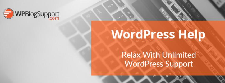 WordPress Help and Live WordPress Support