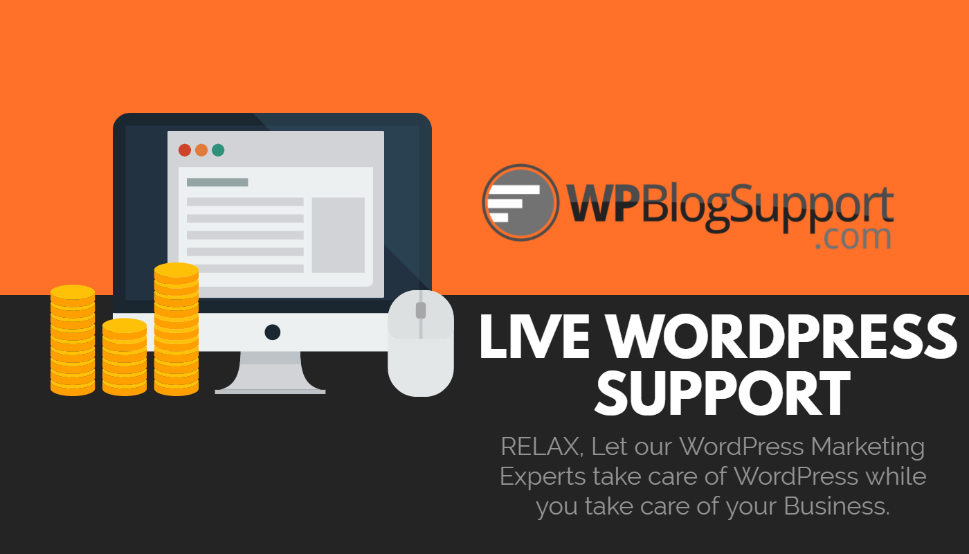 wordpress help and blog support