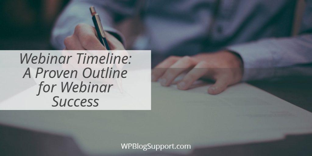 Webinar Timeline_ A Proven Outline for Webinar Success